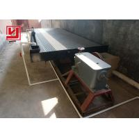 Buy cheap Mineral Shaker Table Vibration Machine for Gold Separating Large Capacity from wholesalers