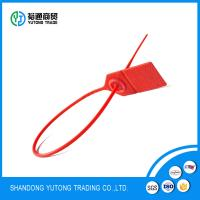 Buy cheap Tamper Evident Security Labels seal container packing plastic lock seal from wholesalers
