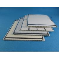 250Mm * 8mm * 5.9m DIY plastic wall cladding , Color pvc ceiling boards for Bathroom Manufactures