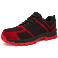Buy cheap Slip Resistant  Safety Footwear Trainers Suede Cow Leather Upper Material from wholesalers