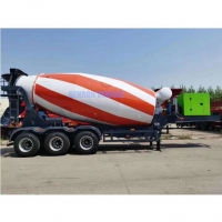 Buy cheap GENRON Brand 55t Construction Truck Trailer Type Concrete Mixer from wholesalers