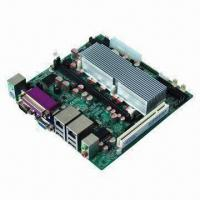 Buy cheap Industrial Mini-ITX Motherboard with Intel Atom N270 and 945GSE + ICH 7M Chipset, 6 x COMS, 1 x PCI from wholesalers