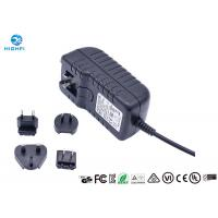 Buy cheap 12V 2A Multi Plug Interchangeable Plug Power Adapter For CCTV Camera Monitor from wholesalers