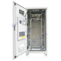 Buy cheap Weatherproof 40U Air Conditioner Type Outdoor Telecom Cabinet / Integrated Outdoor Telecom Enclosure from wholesalers