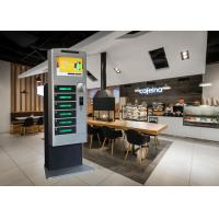Buy cheap Restaurant Subway Cell Phone Charging Stations With Advertising LCD Screen from wholesalers