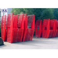 Buy cheap Steel Storage Tire Pallet Rack Foldable Portable Powder Coated For Industrial from wholesalers