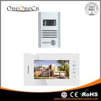 Super Thin 7'' LCD Touch Keypad Intercom Video Door phone Metal Outdoor Unit OC319201 Manufactures