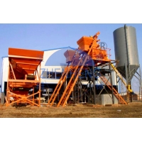 Wholesale HZS75 Stationary Precast Central Mix Concrete Plant, Skip Hopper Concrete Mixing Plant from china suppliers