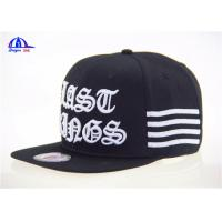 Quality Fashion Hip-hop Baseball Cap / Customized Man Baseball Cap 100% Cotton for sale