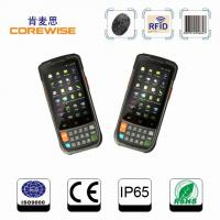 Buy cheap wireless handheld mobile rugged nfc terminal with rfid,fingerprint,barcode scanner,wifi,3g,gps from wholesalers