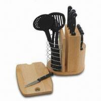 Buy cheap Six-piece Knife Set with Stand and PP Handle from wholesalers
