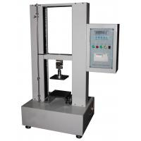 Buy cheap Corrugated Box Edge Ring Crush Paper Testing Equipments 12.7mm/Min from wholesalers