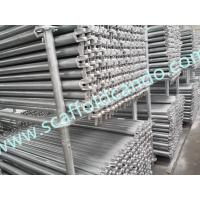 Buy cheap Ringlock scaffolding Level, Ringlock ledger 900,1200,1500,1800mm L Q235, Q345 hot dip galvanized horizontal for sale from wholesalers