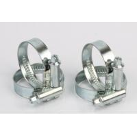 Buy cheap Zinc Plated Steel Non Perforated Hose Clamps Germany Type No Welded from wholesalers