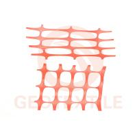 Buy cheap Site Works Plastic Mesh Fencing , Ageing Resistance Orange Safety Fence Roll from wholesalers