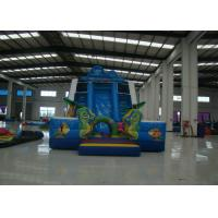 Buy cheap Funny Sea Theme Giant Inflatable Water Slide , Kids Inflatable Water Slide 11 X 5.5 X 7m from wholesalers
