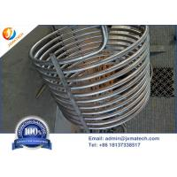 Buy cheap Cold Rolling Coiled Zirconium Tube Zirconium 702 UNS R60702 For Heat Exchanger from wholesalers
