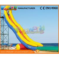 Wholesale 0.55 MM PVC Tarpaulin Crazy Long Water Slide City Giant Inflatable Water Slide from china suppliers