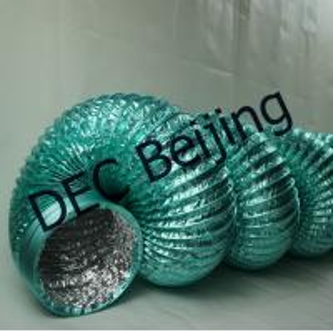 Fire resistance Aluminum Foil Flexible Duct 6 inch flexible HVAC duct for air conditioner Manufactures