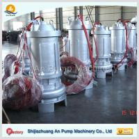 Buy cheap waste water treatment submersible sewage pump from wholesalers