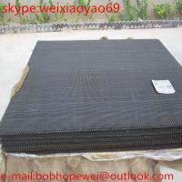 Buy cheap Galvanized crimped wire mesh/sieving sand vibrating screen crimp wire mesh/crimped wire mesh price (Top Sales) from wholesalers