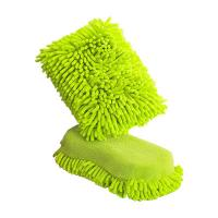Buy cheap Car Cleaning Microfiber Cloths Sponge , Microfiber Polishing Cloth from wholesalers