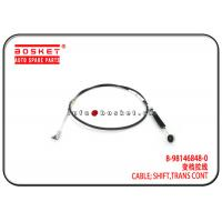 Buy cheap Isuzu 4HG1 NQR71 NPR Transmission Control Shift Cable 8-98146848-0 8981468480 from wholesalers