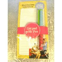 Buy cheap fridge magnetic notepad/memo pad/shopping list with marked pen from wholesalers