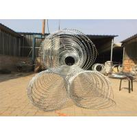 Buy cheap Concertina Razor Barbed Wire / Hot Dipped Galvanized Razor Wire from wholesalers