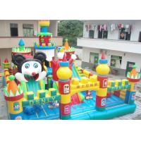 Buy cheap Outdoor Inflatable Amusement Park / Children Playground Equipment For Kids from wholesalers