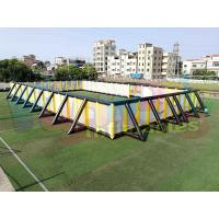 Wholesale Giant Inflatable Sports Arena , 0.4mm PVC Tarpaulin Commercial Inflatable Paintball Field from china suppliers