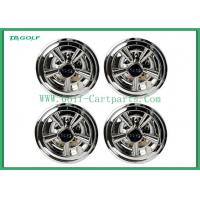 Buy cheap Hubcaps Wheel Covers Golf Trolley Accessories Chrome Finish Plastic Material from wholesalers