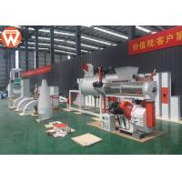 Buy cheap Small Cattle Poultry Pellet Feed Plant With Electronic Control System 1-2T/H from wholesalers