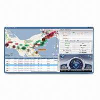 Buy cheap Web Based Tracking Software for Fleet Management, Supports Real-time Tracking and Google Map from wholesalers