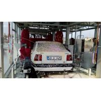 Buy cheap Tunnel Type Car Washing Machine With Red Brush , High Pressure Water Spray System from wholesalers