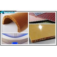 Buy cheap Plain Weave Pattern Kevlar Honeycomb Sheets For Airplane Partition Wall from wholesalers