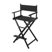 Wholesale Foldable Mac Makeup Chair , Black Lightweight Makeup Artist Chairs from china suppliers