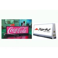 China Digital Taxi Top Signs Taxi Led Sign Display Vibration - Proof 250W Average Consumption on sale