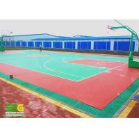 Buy cheap Indoor Sport Court Surface Flooring / Shock Absorbing Flooring Fastest Tennis Court Surface from wholesalers