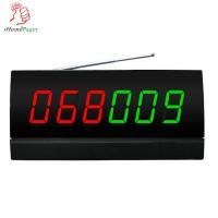 Buy cheap Restaurant equipment screen  receiver with color nixie tube diapaly and  English voice report from wholesalers