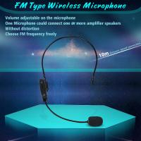 Buy cheap FM Professional headset wireless headset microphone for Tour Guides, Teachers, Coaches, Presentations, Costumes from wholesalers