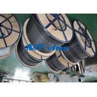 Wholesale MTSCOSSCT55 TP316 / 316L 3 8 stainless steel coil tubing For Hater tubing line from china suppliers
