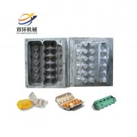 Buy cheap semi automatic small molded pulp paper chicken egg tray making machine from wholesalers