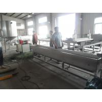 Buy cheap 1000kg/h Recycled Plastic Granules Machine Noodle Cutting Pelletizer of PP / PE from wholesalers