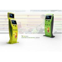 Buy cheap Wireless Telephone and Camera Dual Screens Kiosks for Tel / Transport Card Recharging from wholesalers