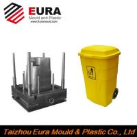 Buy cheap EURA Taizhou plastic trash can mould, plastic dustbin mould, garbage bin mould from wholesalers