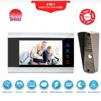 China With Motion Detection Alarm wired Video Intercom Phone AC 12 video Door Bell on sale
