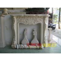 Buy cheap Carved Marble Fireplace (XMJ-FL10) from wholesalers