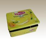 Buy cheap Rectangular Tea Tin Box--Eg. Lipton Tea Tin Box from wholesalers