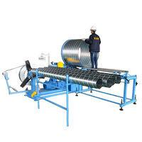 Buy cheap 1/6 HAVC Galvanized steel spiral round duct forming machine for air pipe making and tubeformer manufacture for sale pric from wholesalers